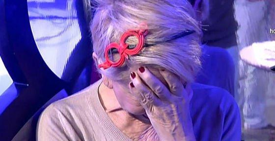 """Karmele Marchante tira la toalla en 'Sálvame': """"¡Me hacéis mobbing, Mila es una loca enferma, me voy!"""""""