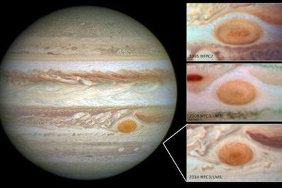 La Gran Mancha Roja de Júpiter se encoge poco a poco, pero no se sabe por qué