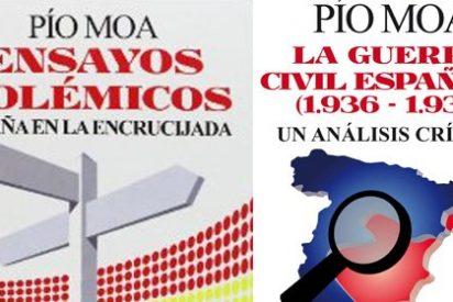 Pío Moa analiza en dos fantásticas obras las causas de la Guerra Civil y las vivencias de los años posteriores