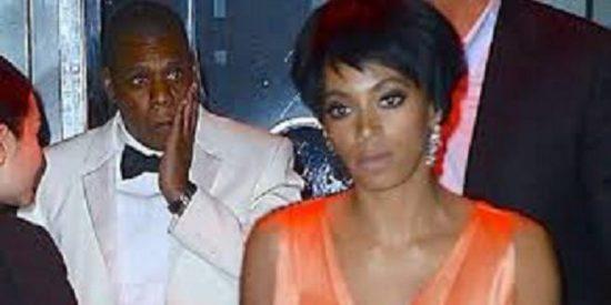 El vídeo de la paliza de la hermana de Beyoncé al rapero Jay Z en un ascensor