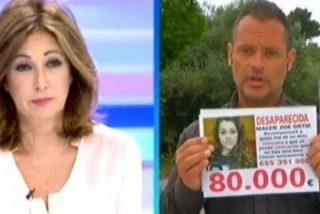 El padre de Malén sube la recompensa a 80.000 euros por alguna pista sobre su hija