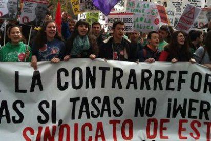 Estudiantes universitarios irán mañana a la huelga y se manifestarán contra los recortes