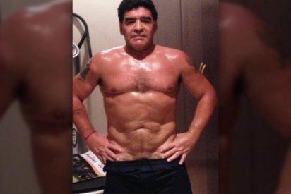 Maradona sorprende a todos con su selfie más caliente