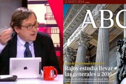 """Marhuenda: """"Algún imbécil en Moncloa le coló al ABC la parida de que Rajoy convocaría elecciones en navidades"""""""