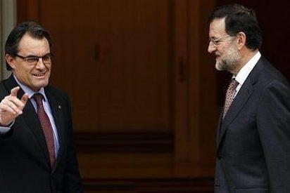 """Mas exhibe sintonía con ERC y exige a Rajoy no poner el """"piloto automático"""""""