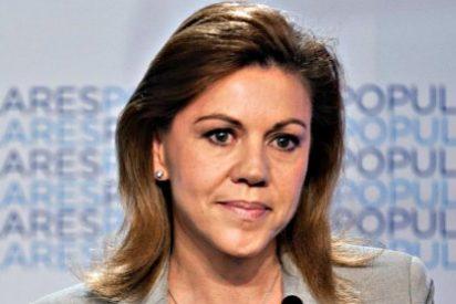 "María Dolores Cospedal acusa a Artur Mas de ""crear odio"""