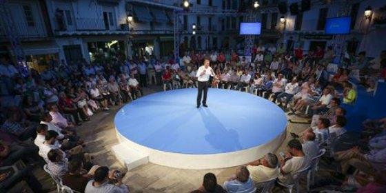 """Monago reitera que su modelo fiscal pasa por """"bajar los impuestos"""" a los extremeños"""