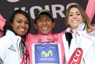 El colombiano Nairo Quintana sobrevive al infierno y toma el mando en el Giro de Italia