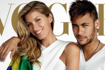 Neymar protagoniza una nueva portada junto a una delas mujeres más deseadas