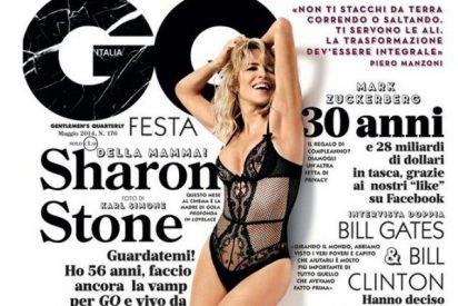 Sharon Stone en lencería despierta nuestro instinto más básico a sus 56 años
