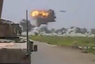 El vídeo del misterioso ovni que destruye un campamento talibán en Afganistán