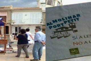Las 10.000 rotundas firmas de 'Al Molinar, port petit' inundan la Autoridad Portuaria