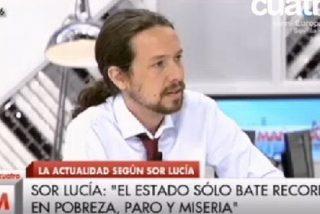 Pablo Iglesias se retrata con una comparación de mal gusto sobre Carrasco