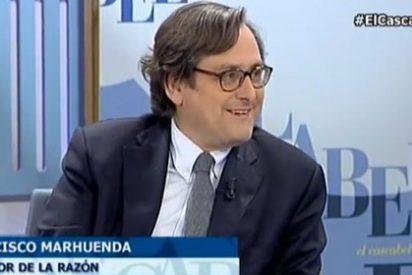 Marhuenda asusta con Rubalcaba como jefe de un Frente Popular