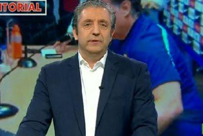 """Josep Pedrerol: """"Tata, la prensa de Barcelona se ha portado mal contigo, ¡explícanos lo que has sufrido!"""""""