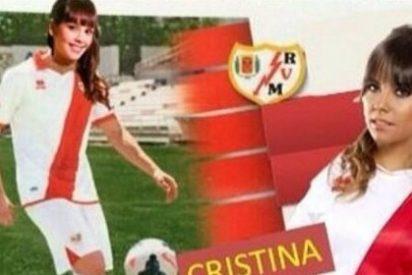 Cristina Pedroche desnuda su amor por el Rayo Vallecano