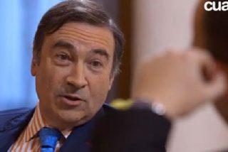 """Pedrojota evita decir cuánto cobró por su cese destacando que el """"risitas"""" Montoro se quedó con el 52 por ciento"""