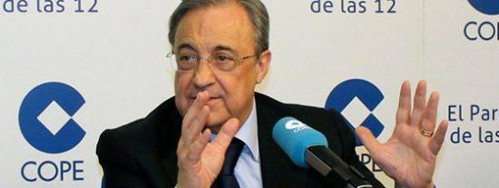 Florentino Pérez se arrancó a cantar la canción de la Décima