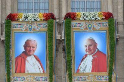 Homenaje a los santos Juan Pablo II y Juan XXIII