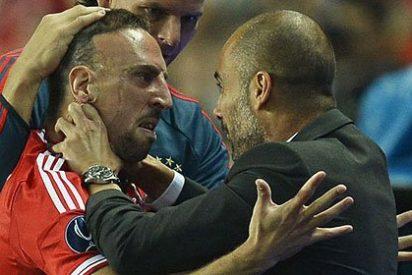 Ribery atiza duramente contra Guardiola
