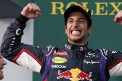 Ricciardo se subleva y manda un 'recado' a Vettel