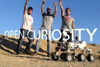 Cuatro aragoneses triunfan en la NASA con un robot marciano que si le da la gana baila hasta la jota