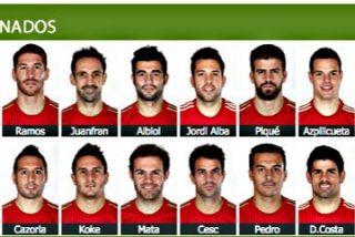 Estos son los 23 jugadores que Vicente del Bosque ha seleccionado para ganar el Mundial de Brasil