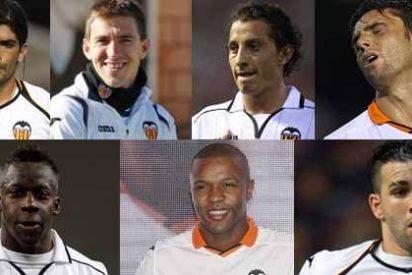 Serán los 7 primeros en salir del Valencia