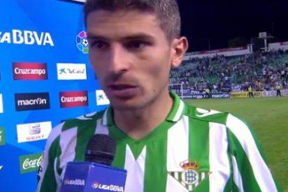 Pide perdón a la afición del Almería por la celebración de su gol