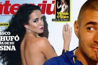 La ex de Bartra y Benzema se desnuda en Interviú