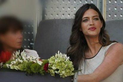 Sara Carbonero pasea su belleza por el Mutua Madrid Open
