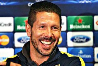 Simeone agradece la Liga a Luis Aragonés