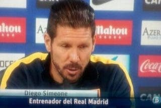 Colocan a Simeone en el banquillo del Real Madrid