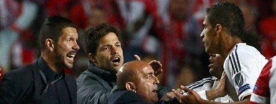 El feo gesto de Varane que hizo a 'Cholo' Simeone irse a por él