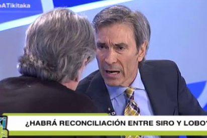 Siro López y Lobo Carrasco se enganchan en 'Tiki-Taka'