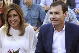 Susana Díaz abochorna a Tomás Gómez y los barones del PP se inquietan