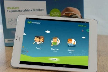 Telefónica Learning Services lanza weShare, la primera tableta familiar que cuenta con un avanzado sistema de navegación