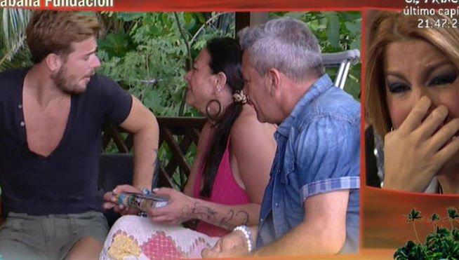 """La sospechosa y escalofriante ruptura entre Oriana y Tony Spina en 'SV2014': """"!Que se vaya de mi casa!"""""""