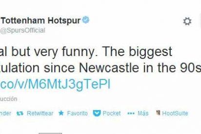 El Tottenham se mofa del Liverpool en Twitter
