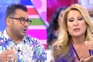 """J.J. Vázquez, sin frenos a por Rosa Benito: """"¡Se me ha quedado cara de imbécil porque la has cagado!"""""""