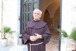 El Papa comió con la custodia franciscana
