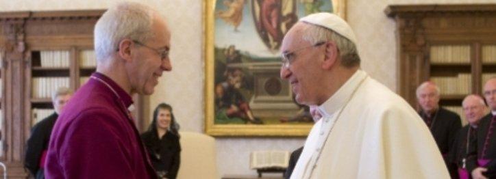 Cumbre católico-anglicana en Roma