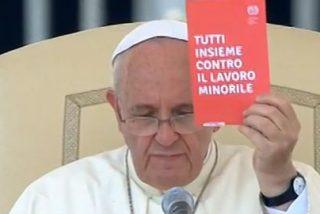 """El Papa clama a la comunidad internacional que """"erradique la plaga"""" de la explotación a menores"""