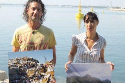 La basura que llega a saco al Puerto de Alcúdia...¡atufa a propios y extraños!