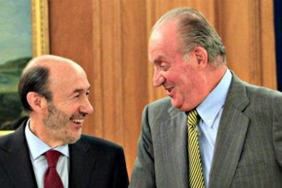 La delicada misión que el Rey Juan Carlos dejó en manos del fiel Rubalcaba