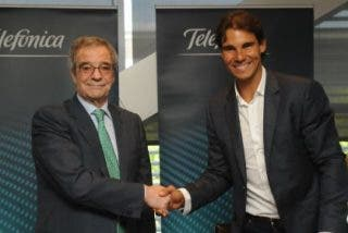 Telefónica ficha como embajador al tenista número 1 del mundo y mejor deportista español de todos los tiempos, Rafa Nadal