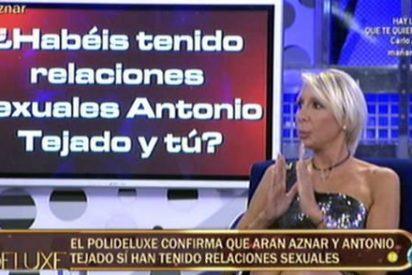 La sobrina de José María Aznar, destrozada y hundida al hablar de sexo y cuernos en el 'Deluxe'