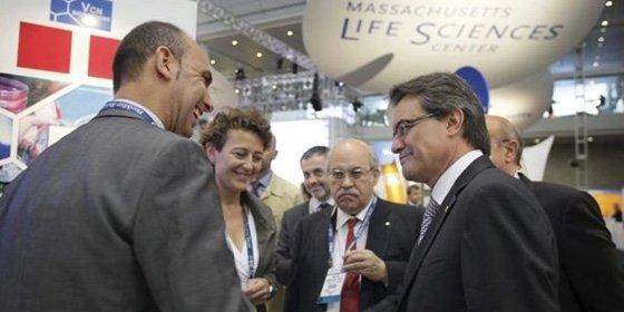 Medio Gobierno catalán, con Mas a la cabeza, de viaje empresarial a Estados Unidos