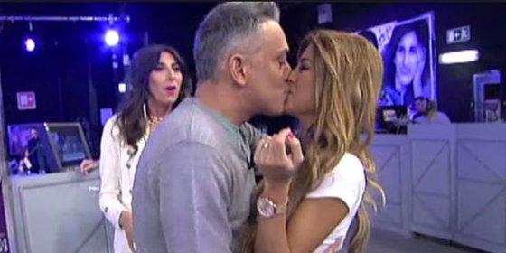 """El censurado e insólito beso con lengua entre Oriana ('SV2014') y Kiko Hernández: """"Fue algo un poco sucio"""""""