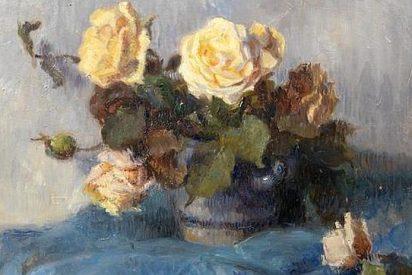 Un cuadro inédito de Gauguin con rosas amarillas es vendido por 1,3 millones de euros